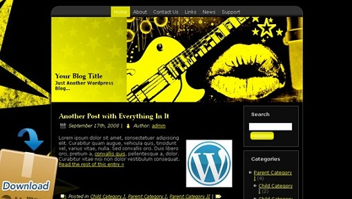 Free Music WordPress Themes - featured image