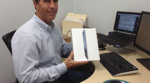 Bob and his new iPad