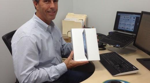 Bob and his new iPad