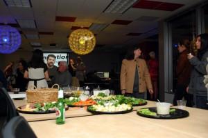 Open House, Food Buffet