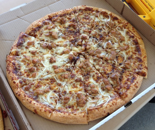BBQ Chicken Supreme Pizza