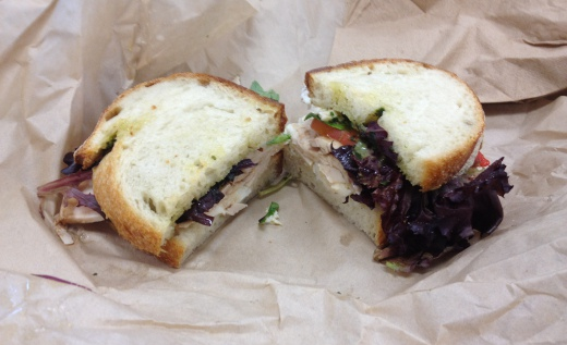 Mendocino Farms' Chicken MBT Sandwich
