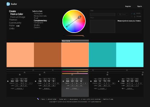 Color Pallete Generators The Official Inmotion Hosting Blog