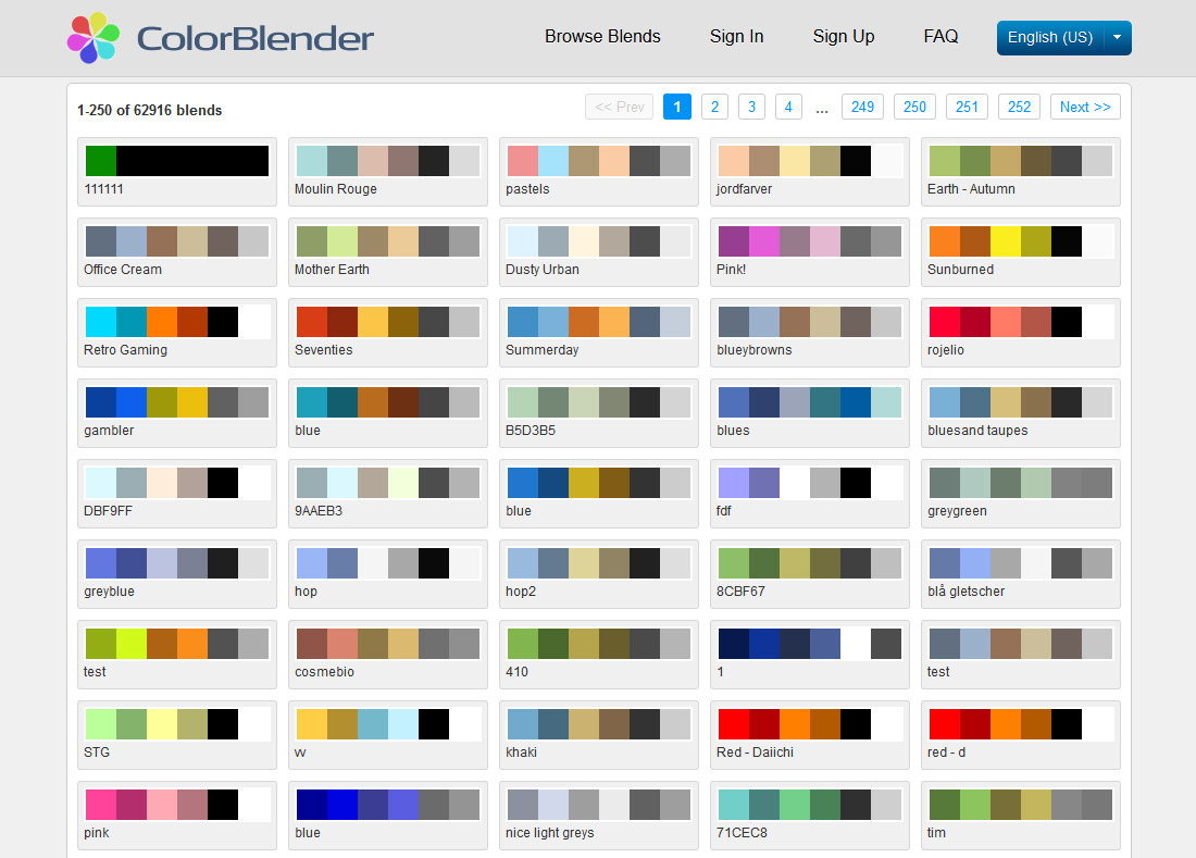 Colour Scheme Designer Color Pallete Generators The Official Inmotion Hosting Blog