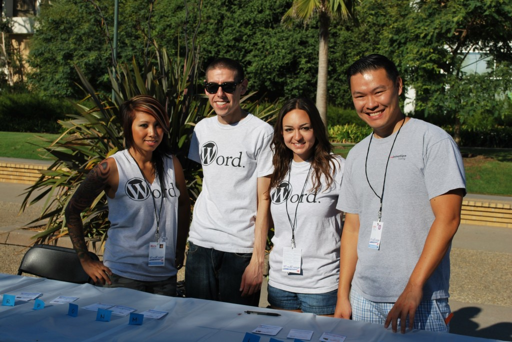 Team InMotion Hosting at WordCamp LA