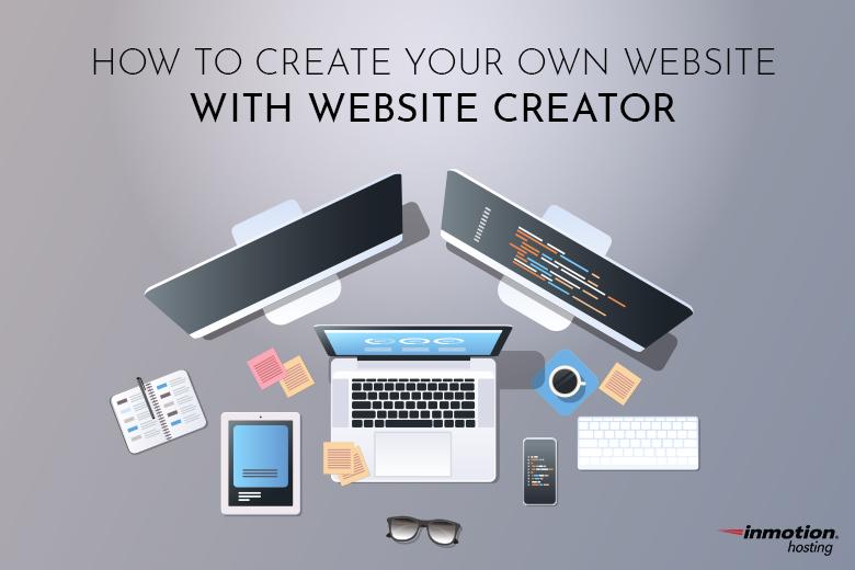 Create your own website! | Website Creator