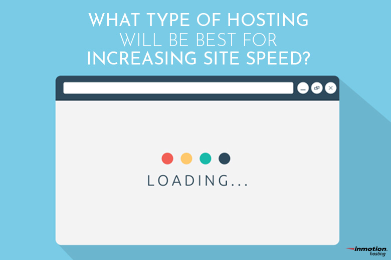 What type of hosting will increase speed | InMotion Hosting