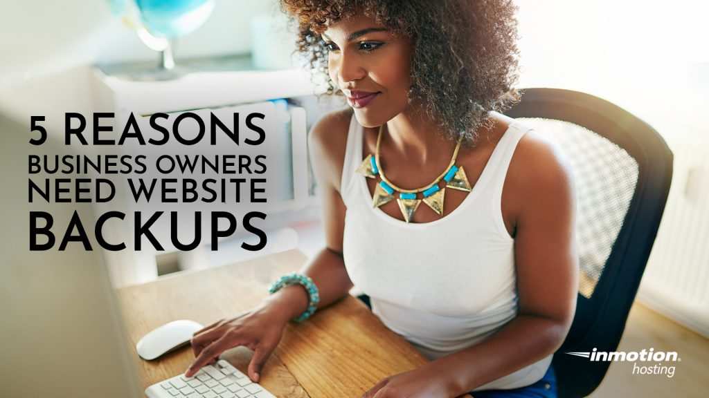 5 Reasons Business Owners Need Website Backups