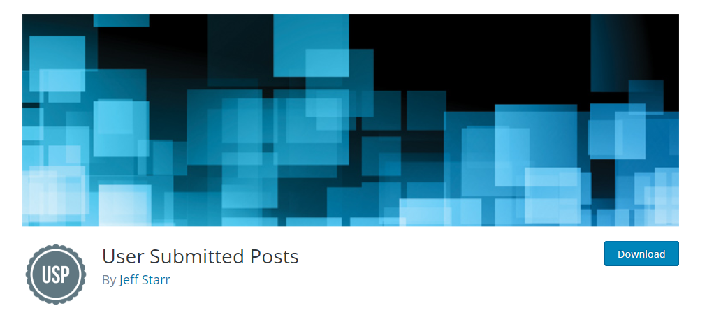 User Submitted Posts WordPress plugin to allow blog post submissions