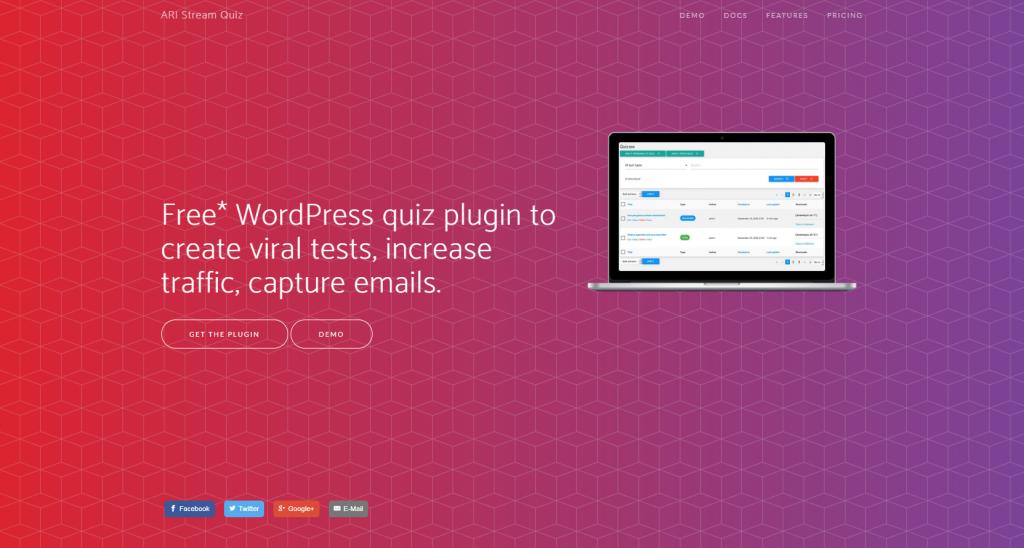 ARI Stream quiz plugin for wordpress