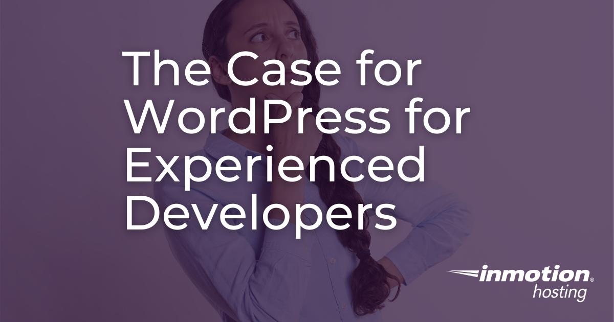 title image wordpress for experienced developers