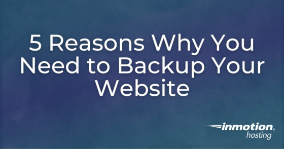 5 Reasons Why You Need to Backup Your Website