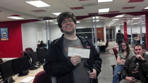 Nick W. Raffle Winner Again!