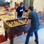 Fooseball Final Game- Chris & Jesse