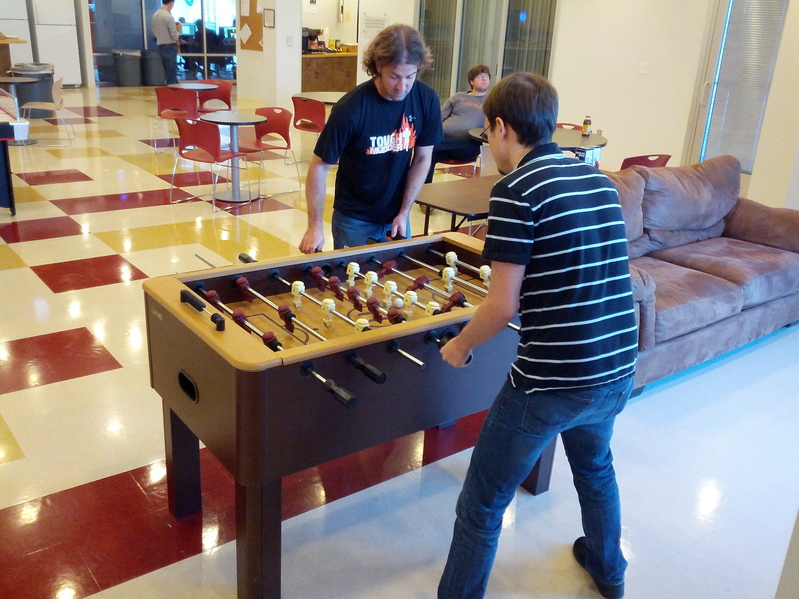 Fooseball Final Game- Chris & Jesse