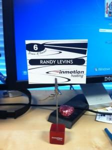 Randy Service Award