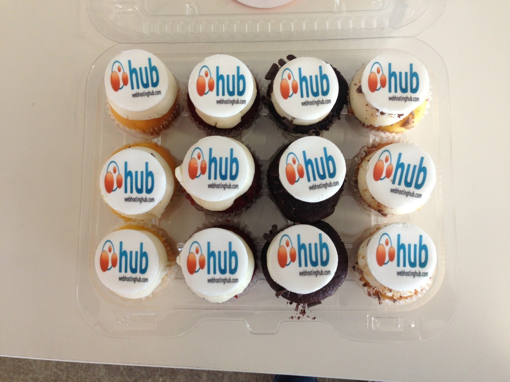 Who wants a Hub cupcake?