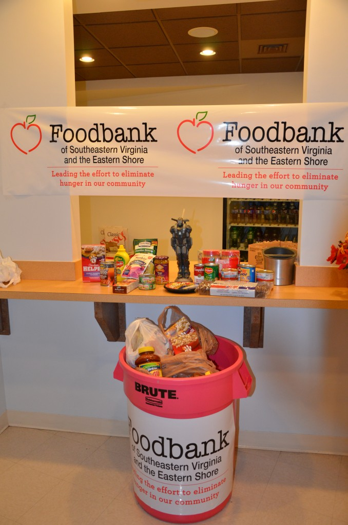 Annual Food Drive Donations