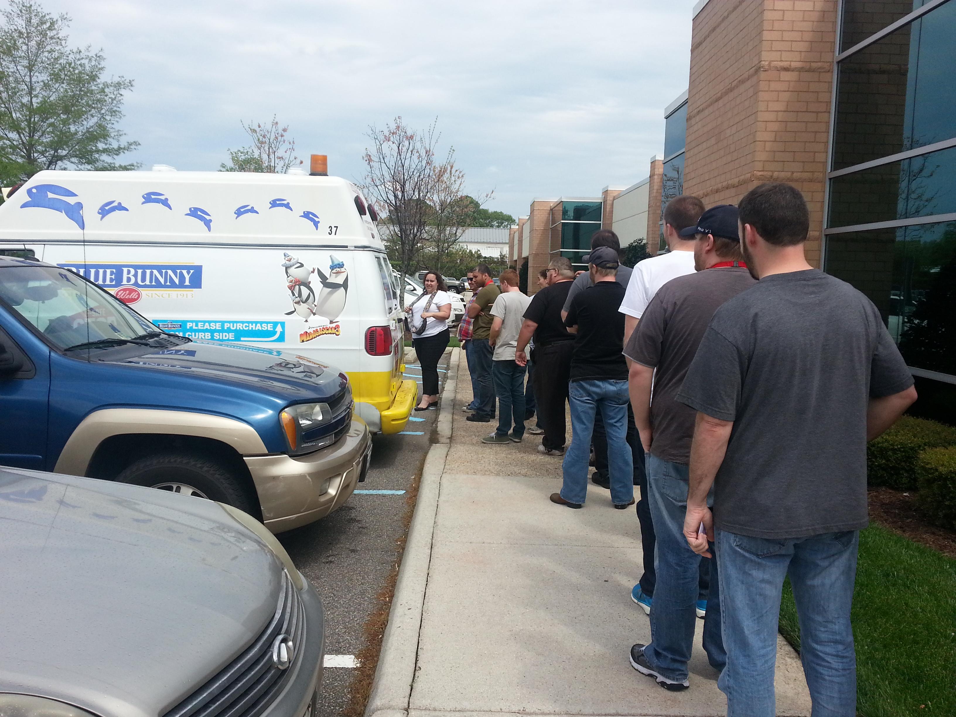 Ice Cream Truck Take Over