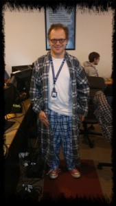 Man in Jammies