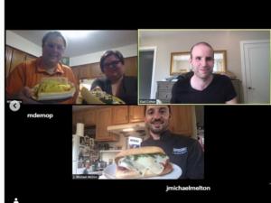 Image of Team Member making Meatball Sub