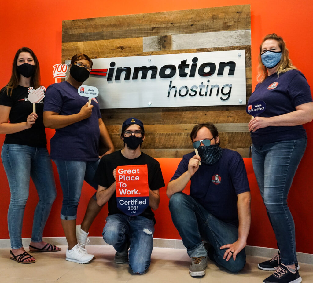 InMotion Hosting Celebrates Great Place to Work