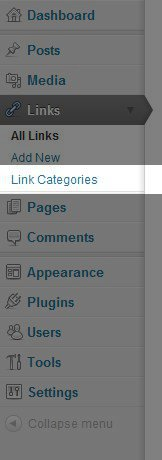 wp-link-categories