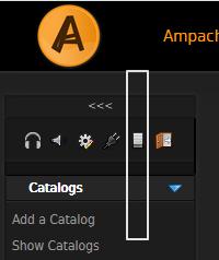Select admin button