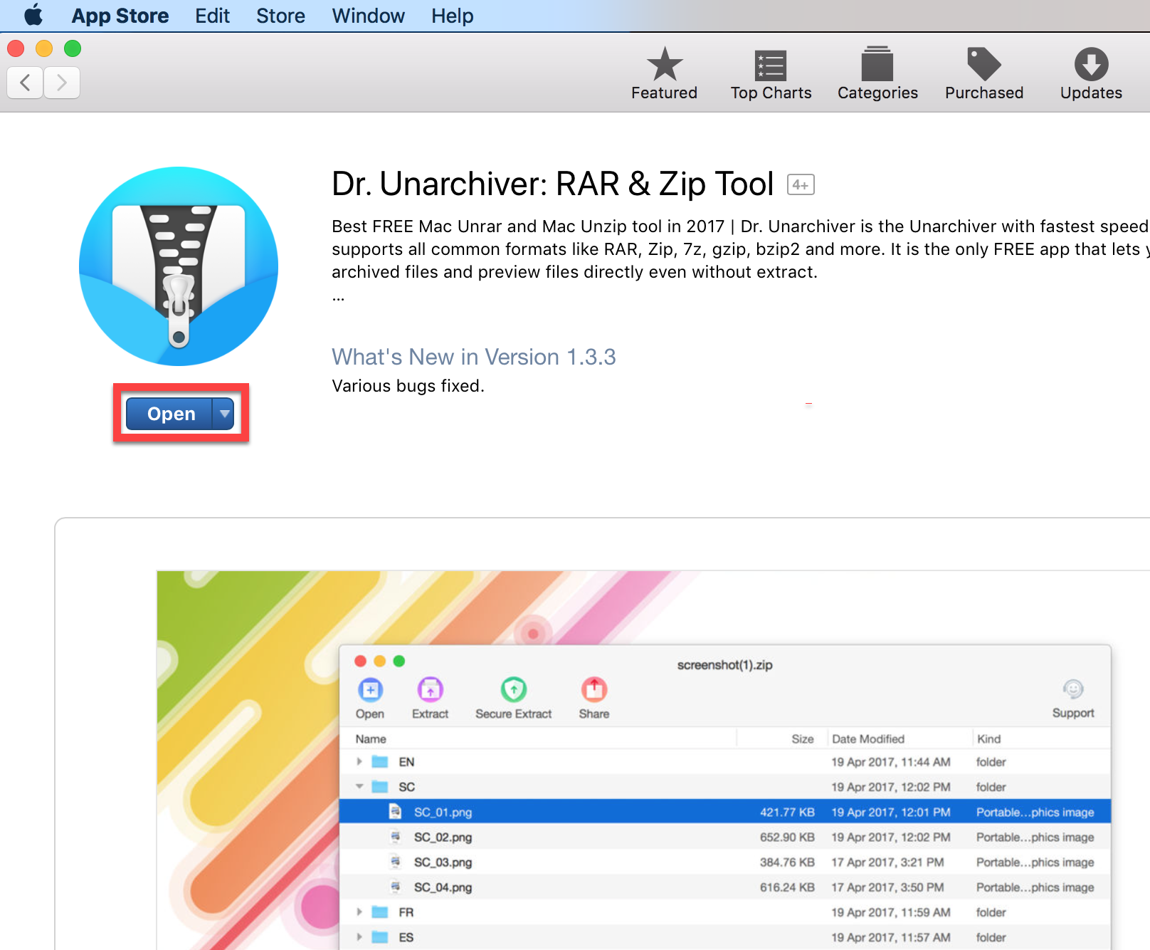 Get the Dr. Unarchiver app
