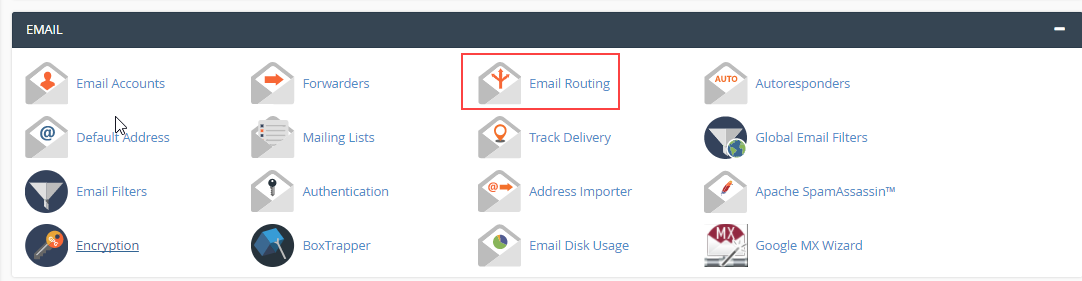 Select Email Routing