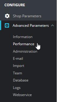 Press Performance under Advanced Parameters