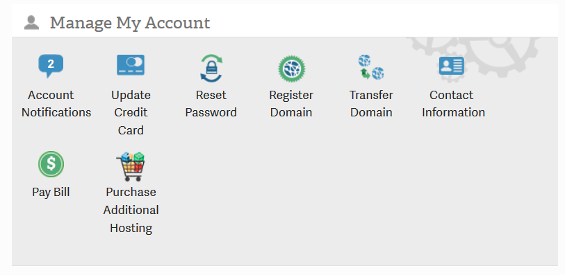 01 manage account