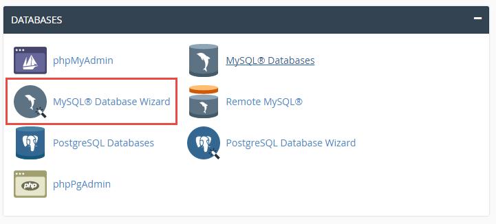 mysql_database_wizard