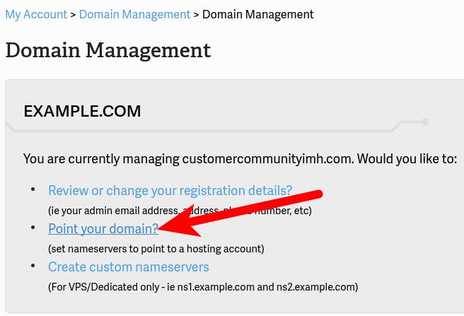Updating Domain DNS