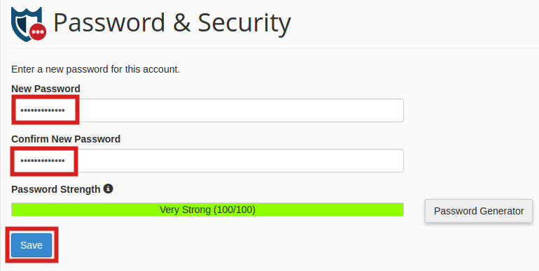How to Change an Email Password in cPanel and Webmail | InMotion