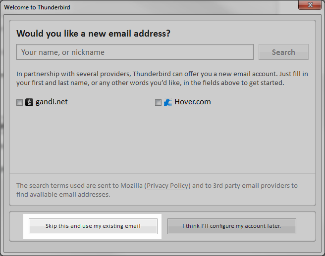 Checking an Email Account in Thunderbird | InMotion Hosting Support