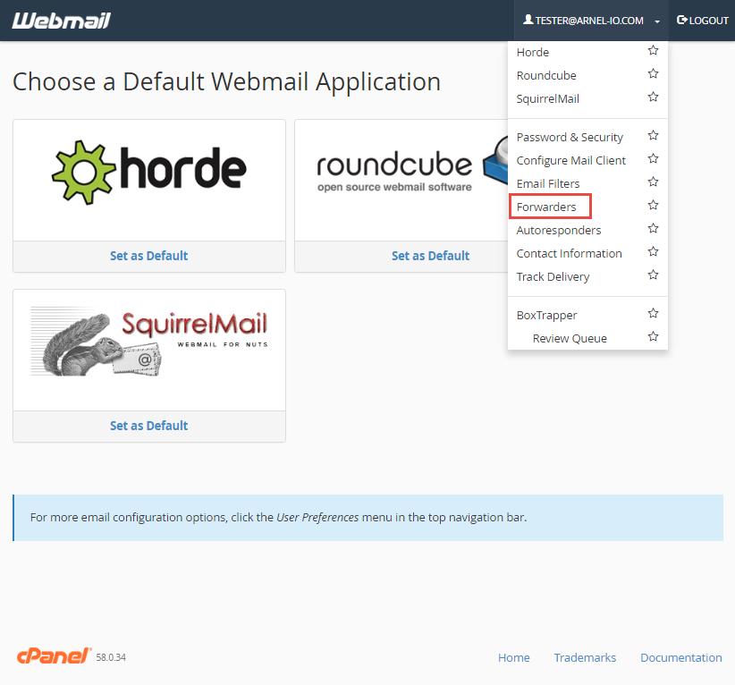 webmail-forward