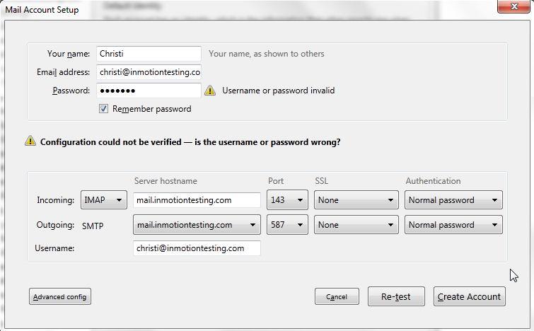 thunderbird-username-password-wrong