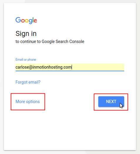 google search console sign in to gsc