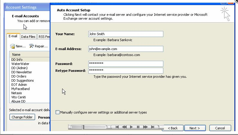 Checking your email with Outlook 2007 | InMotion Hosting