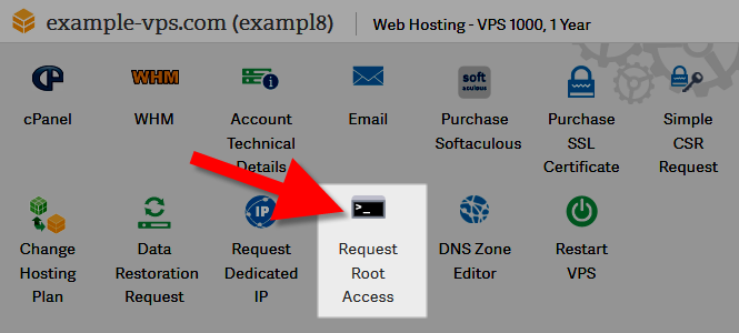 revamp request root access