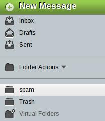 Horde-spam-folder