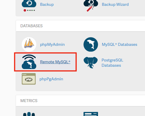 Setting up a Remote MySQL Database Connection | InMotion