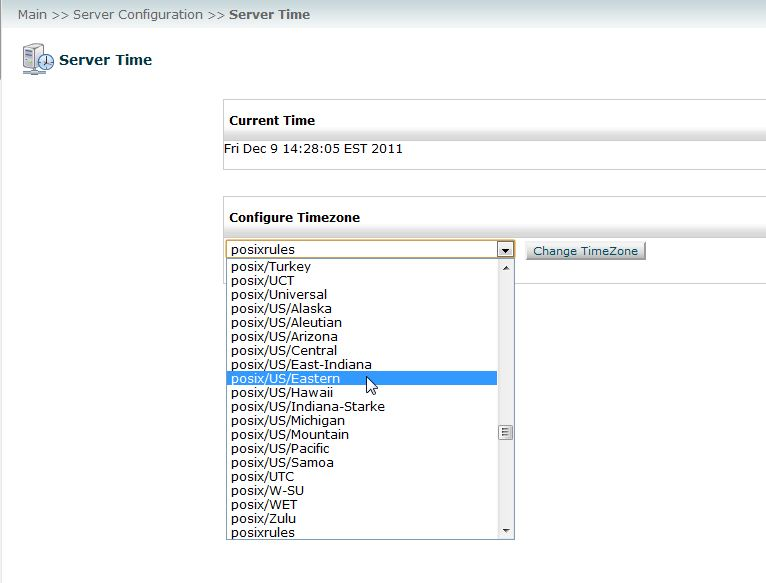 How to Set the Server Time Zone in WHM | InMotion Hosting