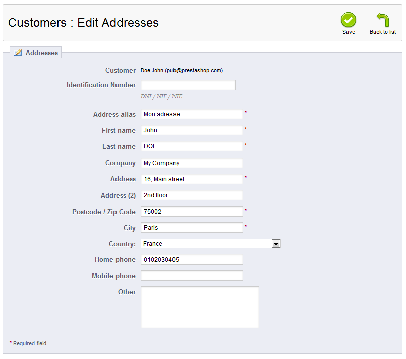 customer-address-edit-data