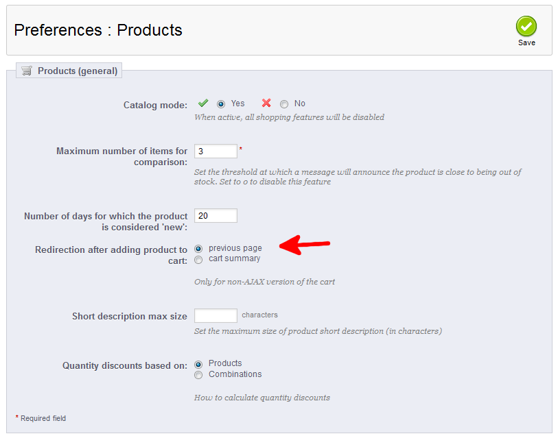preferences-products-redirection