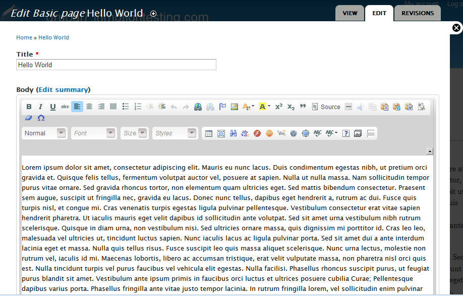 How To Get The Wysiwyg Editor To Work In Drupal 7 Inmotion Hosting