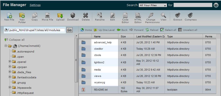 modules-folder