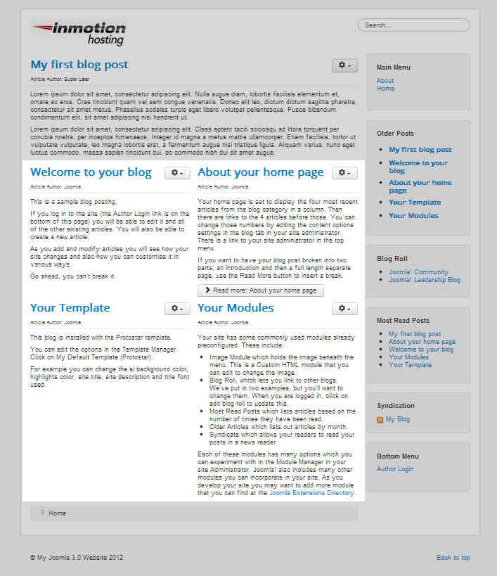two-columns-on-joomla-homepage