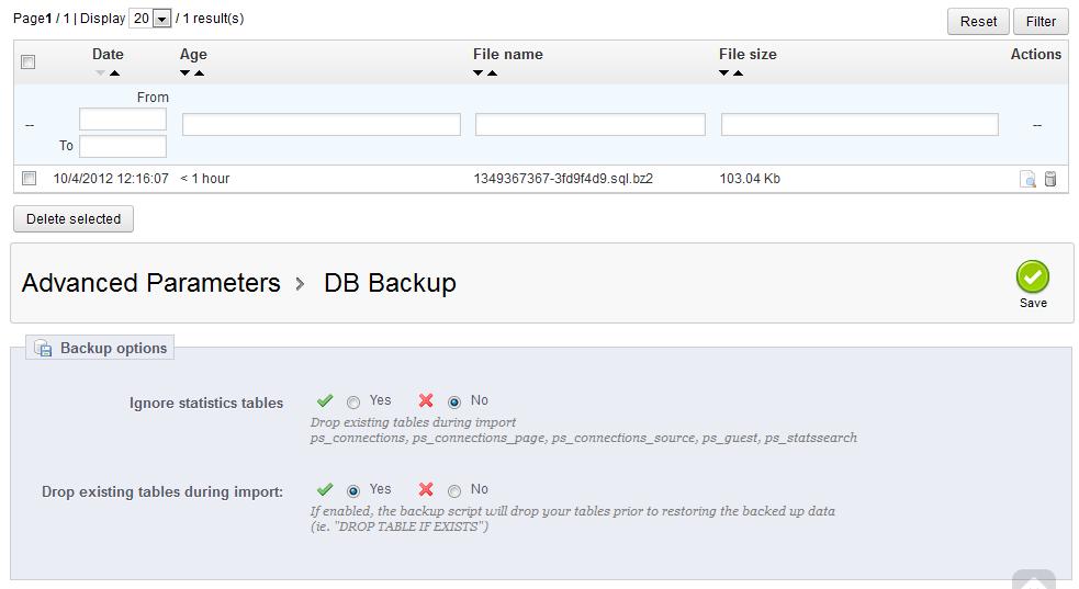 dbbackup-adv-parameters